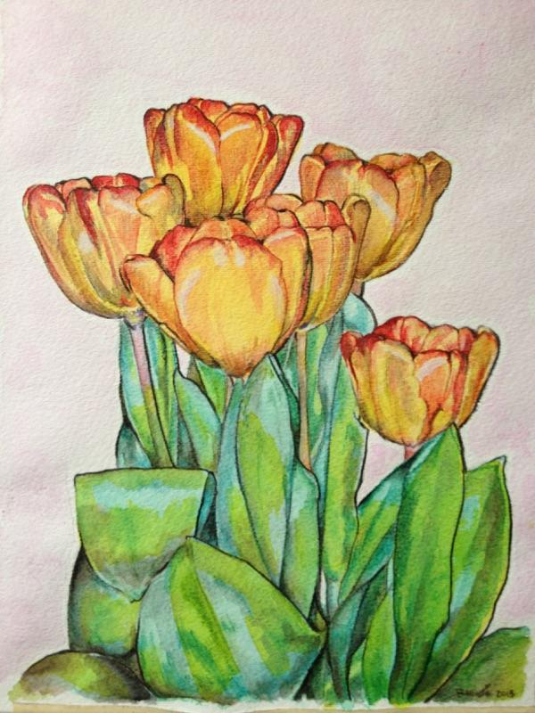 Renee Crouser - Watercolor
